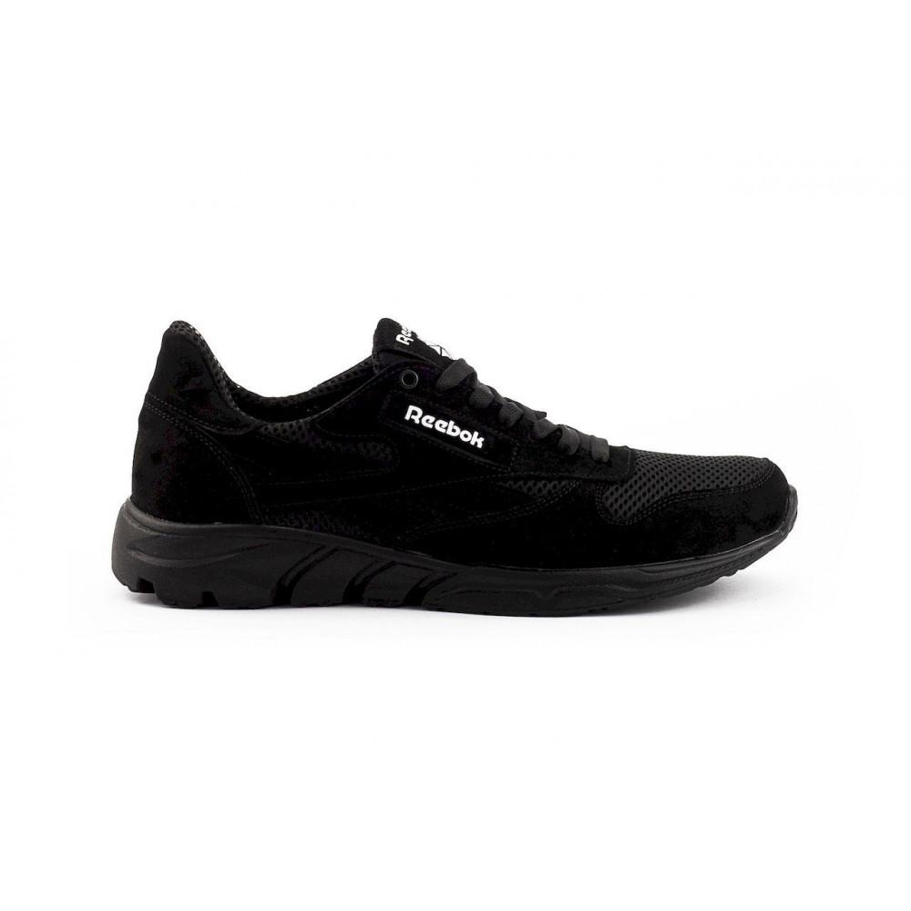 Летние кроссовки мужские - Мужские кроссовки текстильные летние черные Lions R16-сет-ч 5