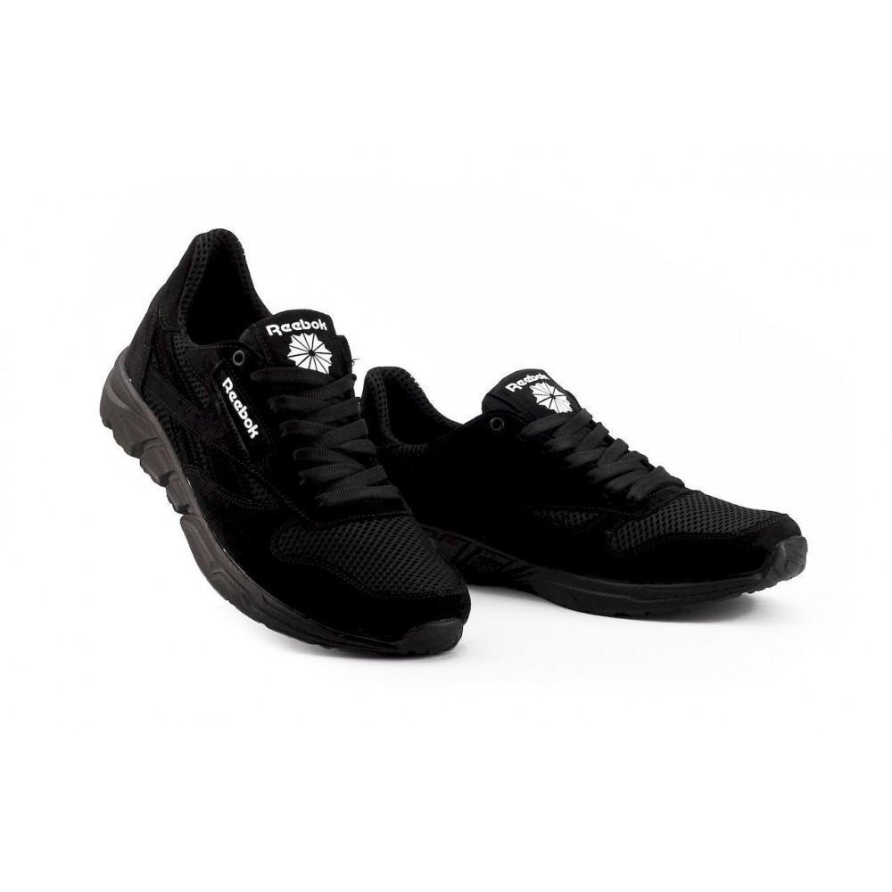 Летние кроссовки мужские - Мужские кроссовки текстильные летние черные Lions R16-сет-ч 4