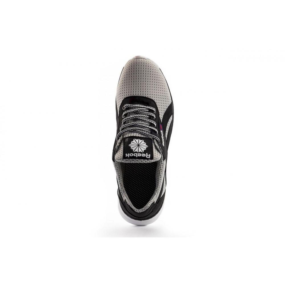 Летние кроссовки мужские - Мужские кроссовки текстильные летние серые CrosSAV 80-с 1