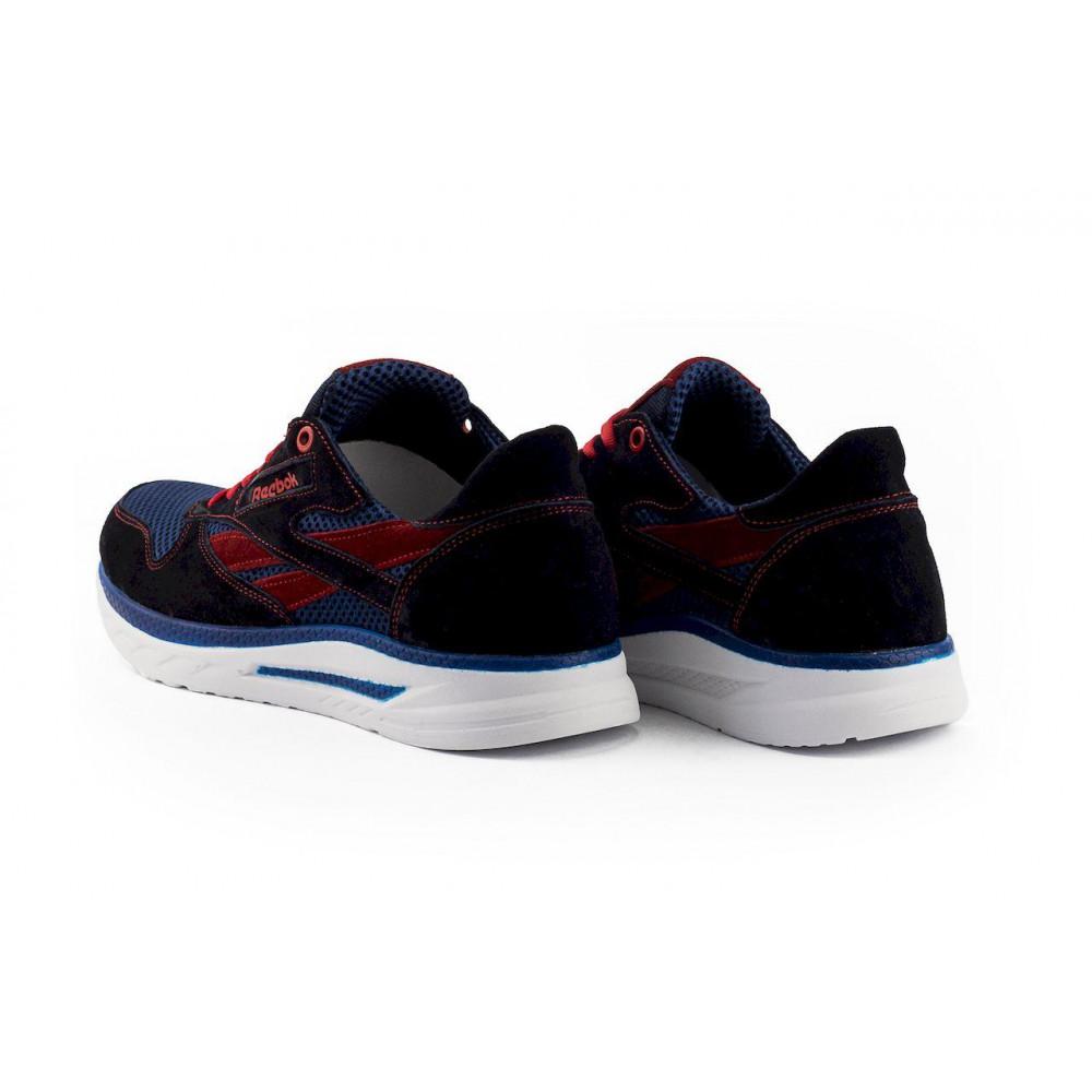 Летние кроссовки мужские - Мужские кроссовки текстильные летние синие-красные Lions R16-сет-с-кр 3