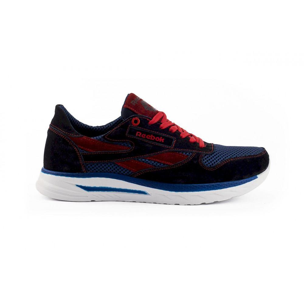 Летние кроссовки мужские - Мужские кроссовки текстильные летние синие-красные Lions R16-сет-с-кр 2