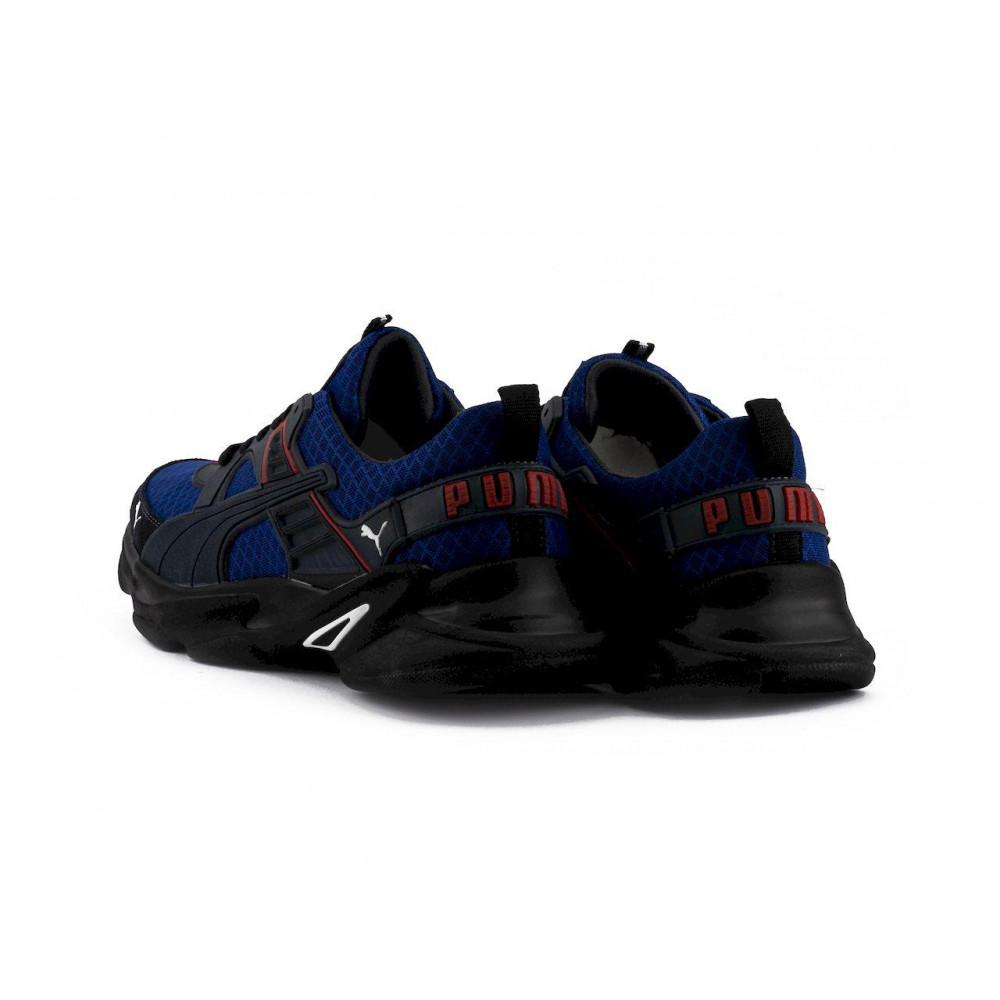 Летние кроссовки мужские - Мужские кроссовки текстильные летние синие Anser P5 с 8