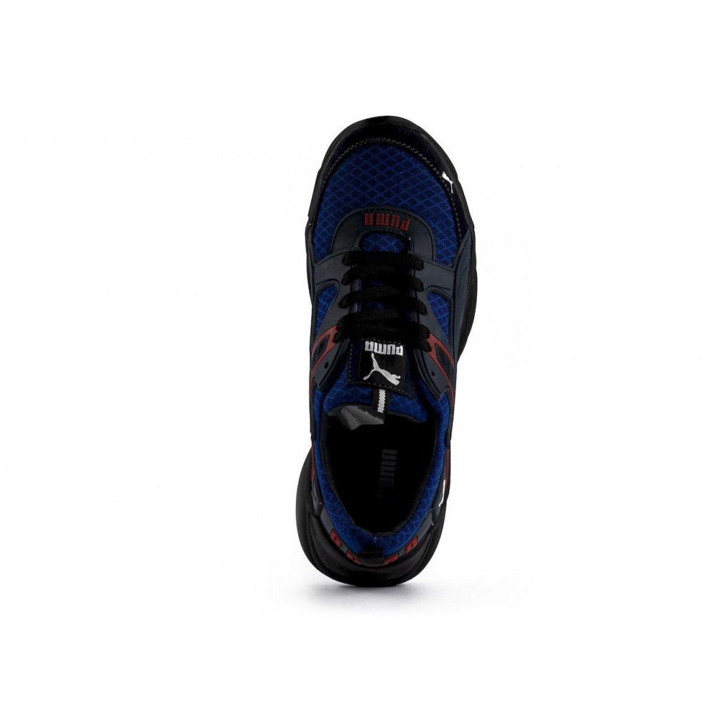 Летние кроссовки мужские - Мужские кроссовки текстильные летние синие Anser P5 с 6