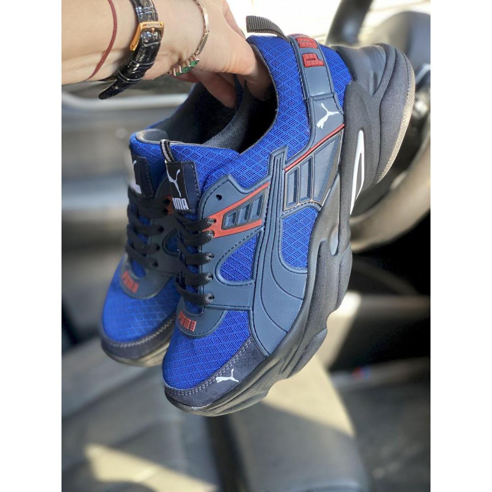 Летние кроссовки мужские - Мужские кроссовки текстильные летние синие Anser P5 с 5