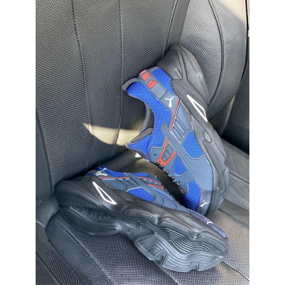 Летние кроссовки мужские - Мужские кроссовки текстильные летние синие Anser P5 с 2