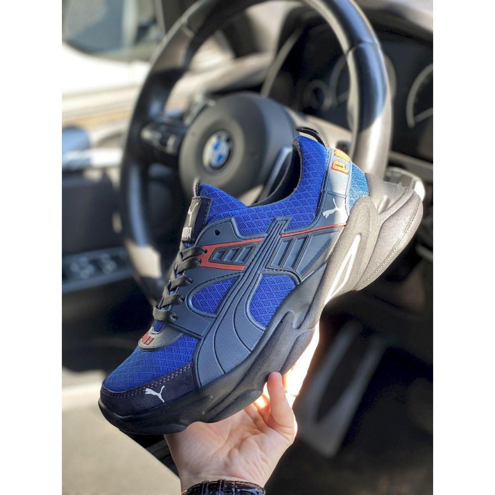 Летние кроссовки мужские - Мужские кроссовки текстильные летние синие Anser P5 с 1