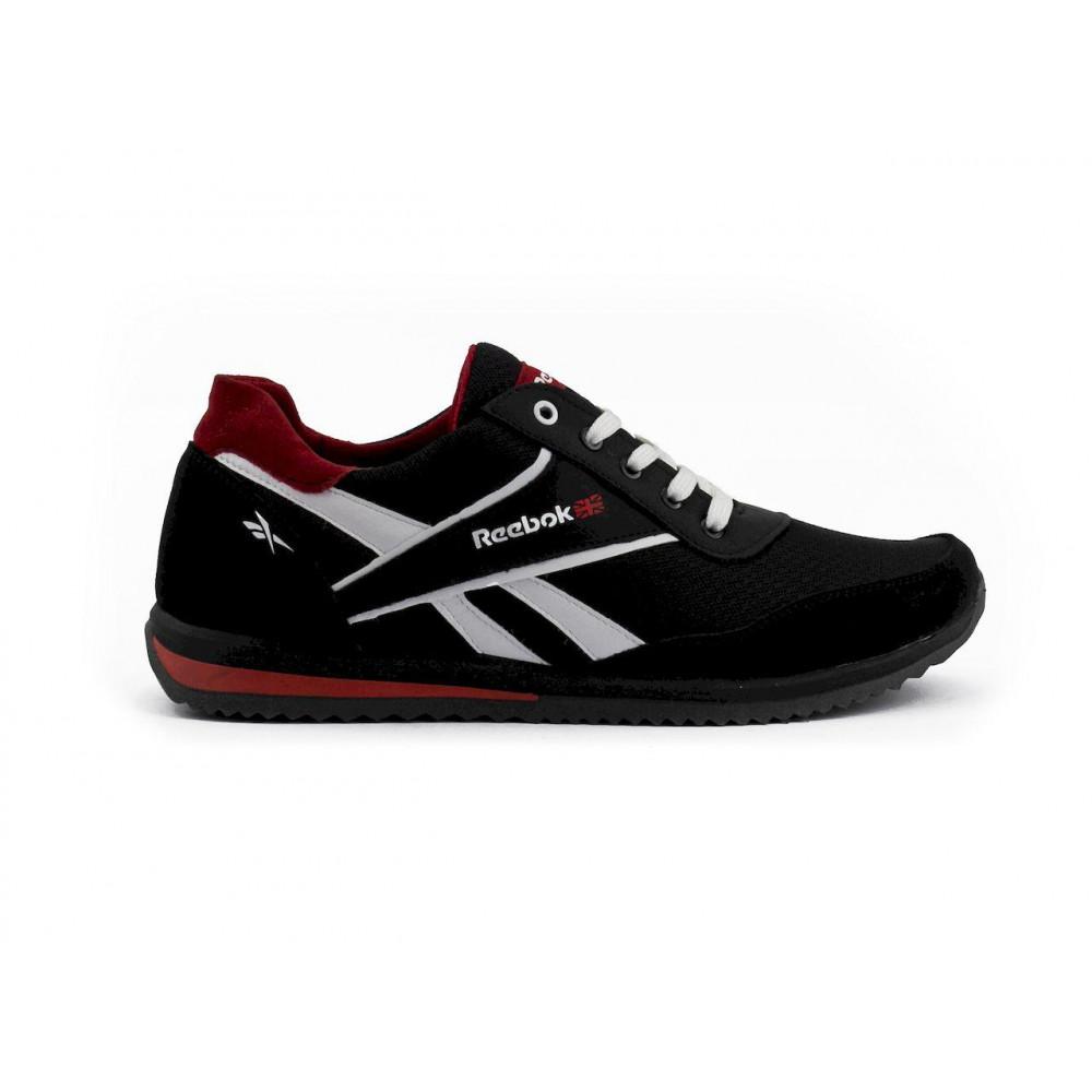 Летние кроссовки мужские - Мужские кроссовки текстильные летние черные Anser NS black 103 1