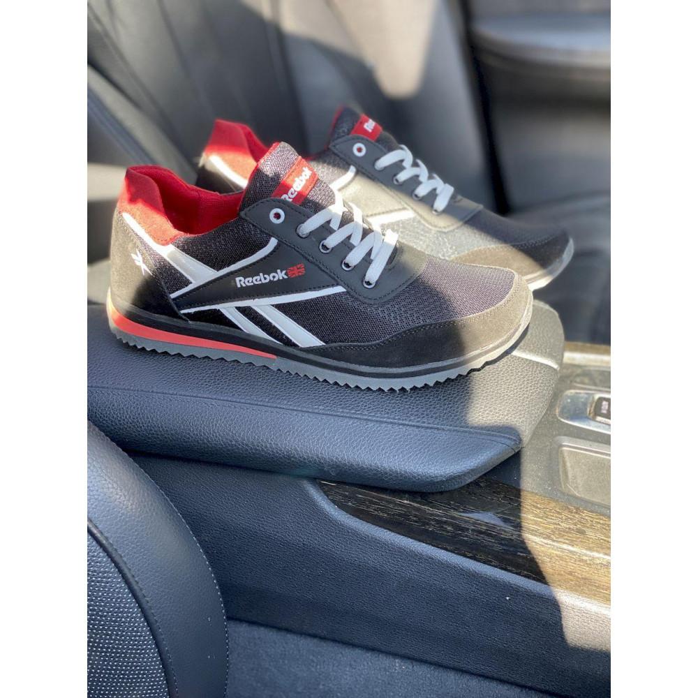 Летние кроссовки мужские - Мужские кроссовки текстильные летние черные Anser NS black 103 7