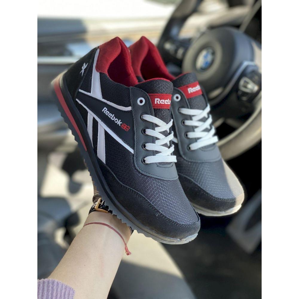 Летние кроссовки мужские - Мужские кроссовки текстильные летние черные Anser NS black 103 6