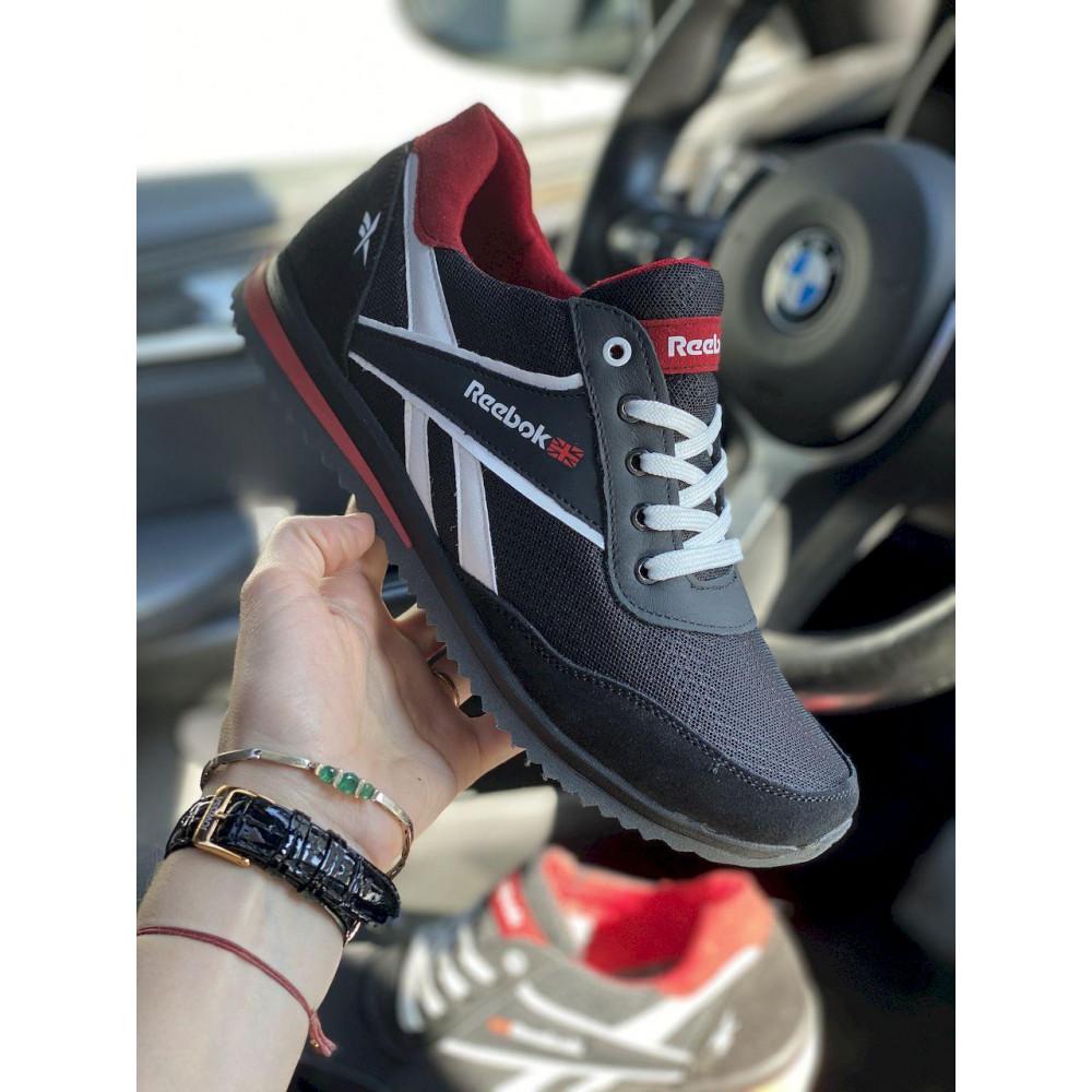 Летние кроссовки мужские - Мужские кроссовки текстильные летние черные Anser NS black 103 5