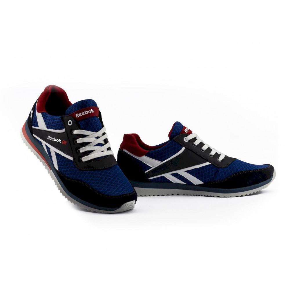 Летние кроссовки мужские - Мужские кроссовки текстильные летние синие Anser NS blue 103