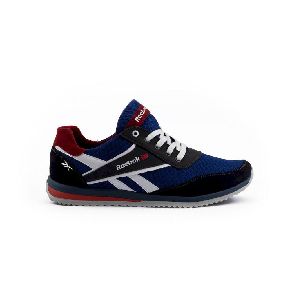 Летние кроссовки мужские - Мужские кроссовки текстильные летние синие Anser NS blue 103  4