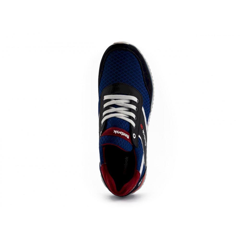 Летние кроссовки мужские - Мужские кроссовки текстильные летние синие Anser NS blue 103  3