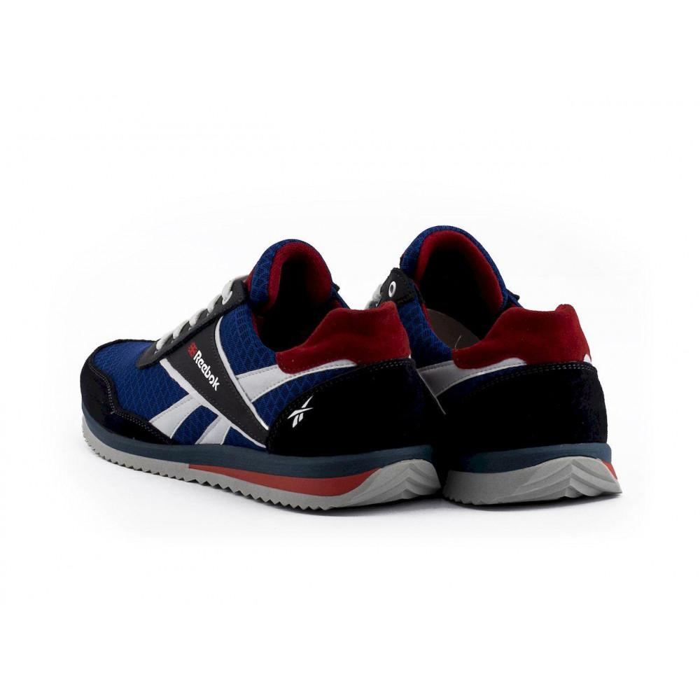 Летние кроссовки мужские - Мужские кроссовки текстильные летние синие Anser NS blue 103  2