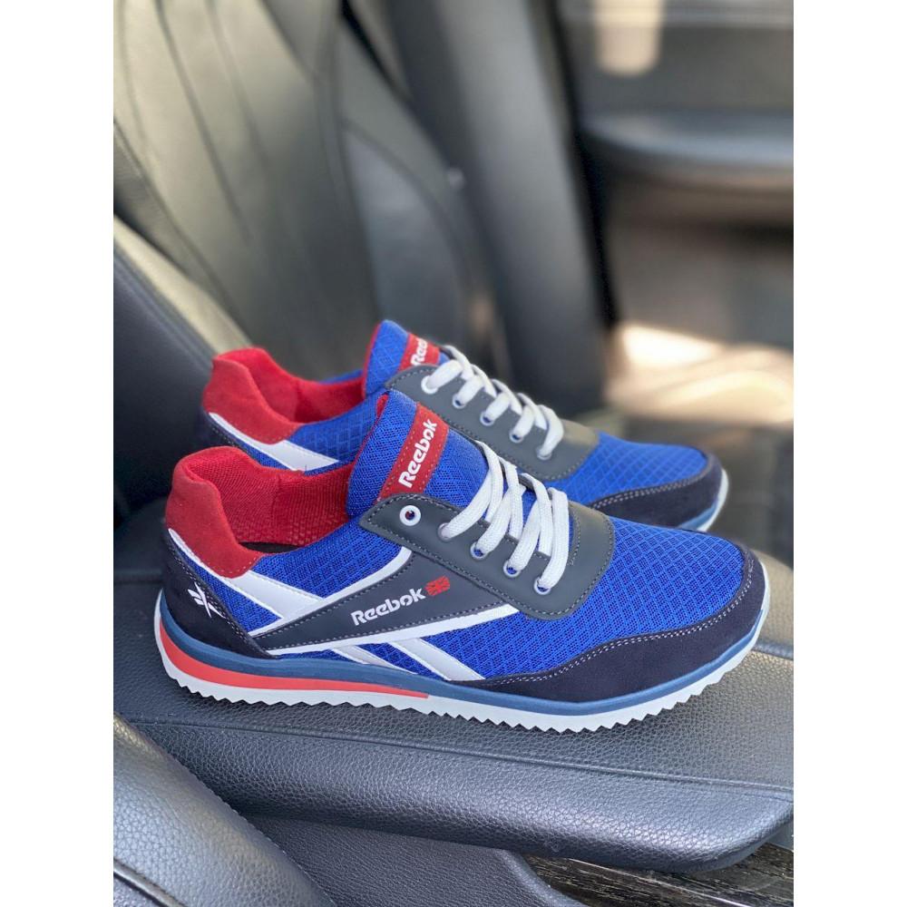 Летние кроссовки мужские - Мужские кроссовки текстильные летние синие Anser NS blue 103  1