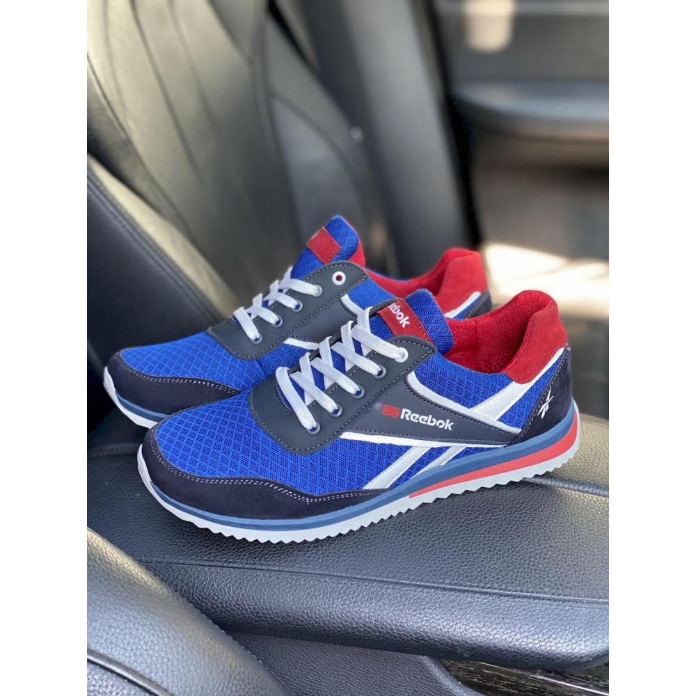 Летние кроссовки мужские - Мужские кроссовки текстильные летние синие Anser NS blue 103  9
