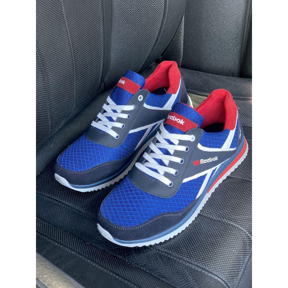 Летние кроссовки мужские - Мужские кроссовки текстильные летние синие Anser NS blue 103  7