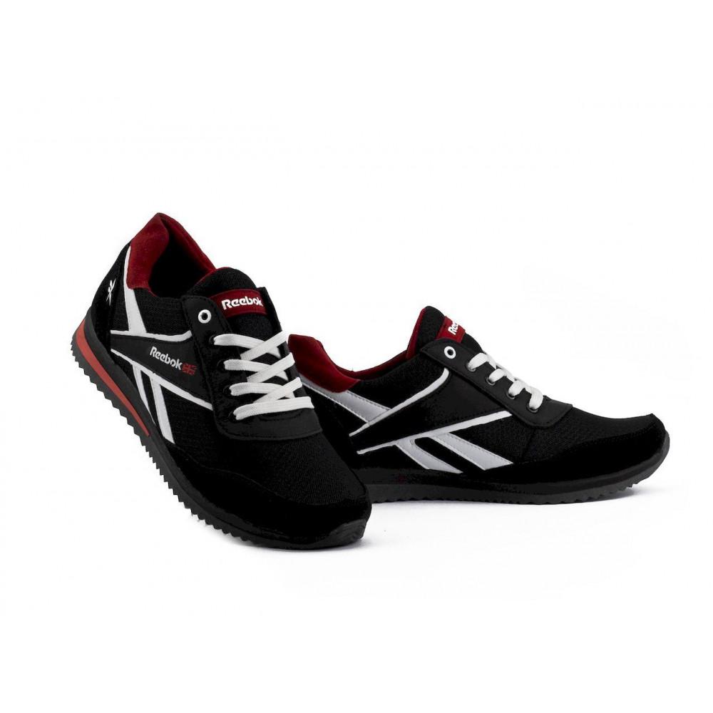 Летние кроссовки мужские - Мужские кроссовки текстильные летние черные Anser NS black 103 4