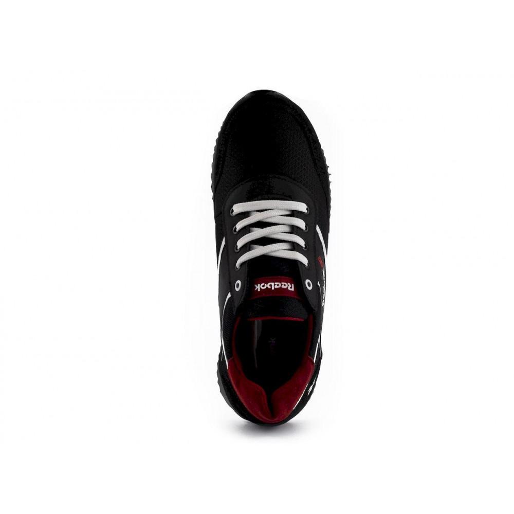 Летние кроссовки мужские - Мужские кроссовки текстильные летние черные Anser NS black 103 2