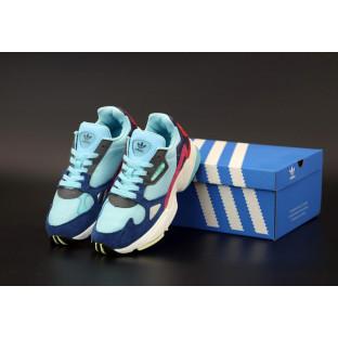 Женские кроссовки Adidas Falcon Blue White