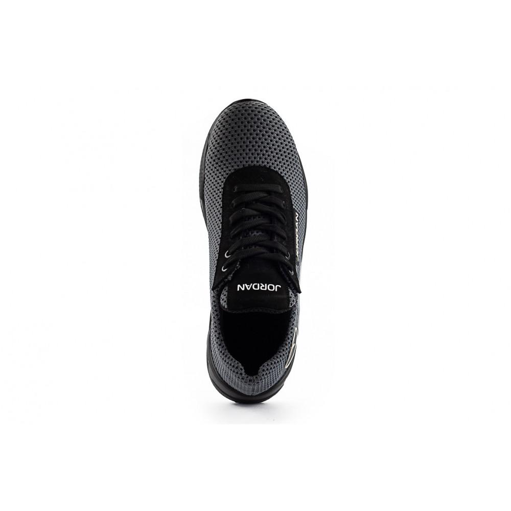 Летние кроссовки мужские - Мужские кроссовки текстильные летние серые Lions JD сер 1