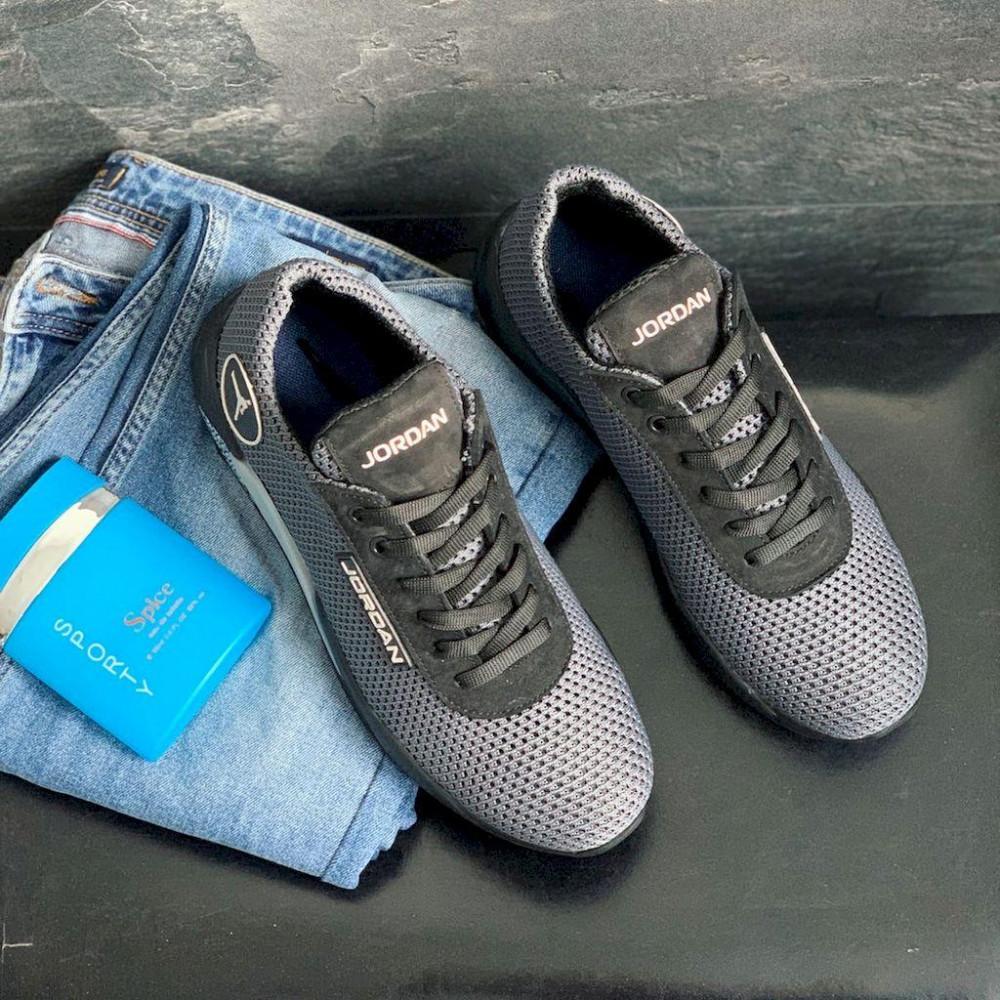 Летние кроссовки мужские - Мужские кроссовки текстильные летние серые Lions JD сер 2