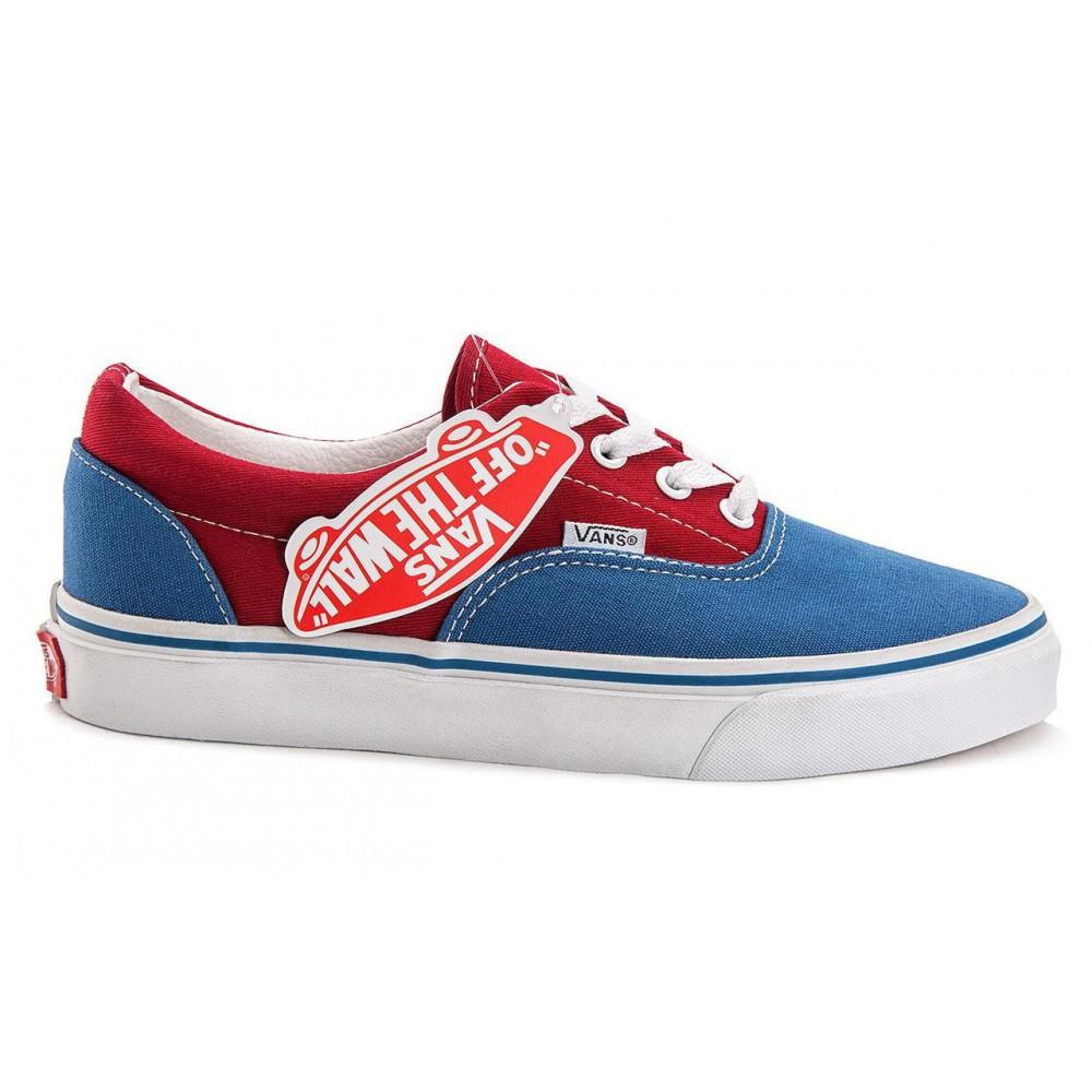 Мужские кеды летние - Кеды Vans Era Blue Red