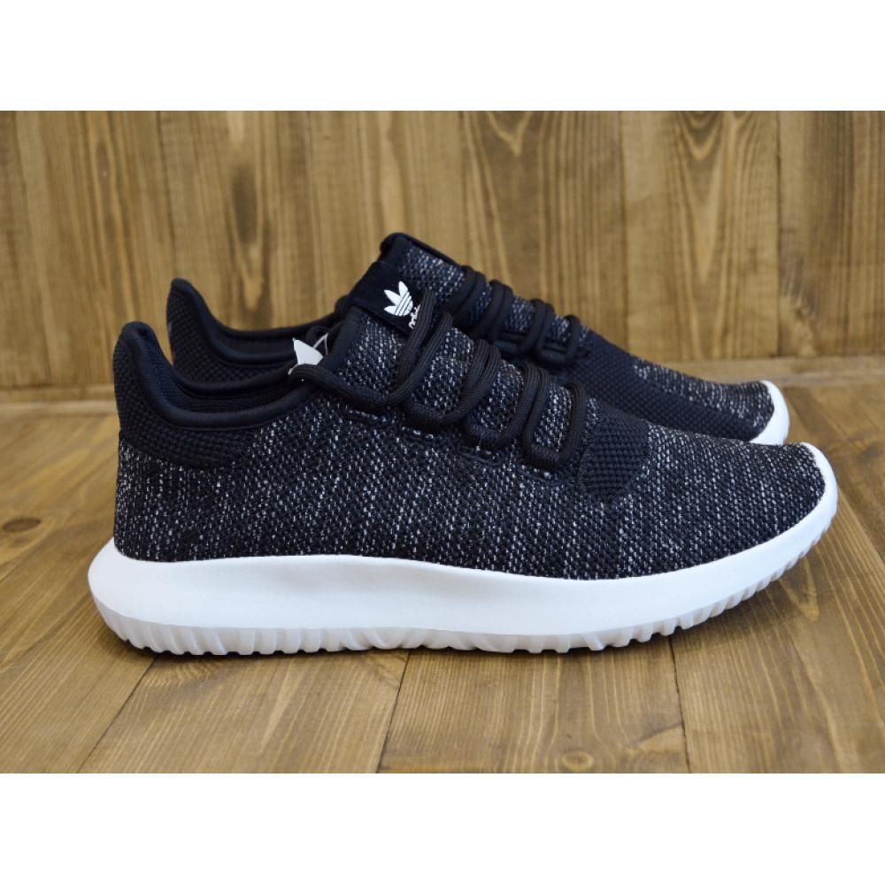 Демисезонные кроссовки мужские   - Кроссовки Adidas Tubular Shadow Knit Black 6