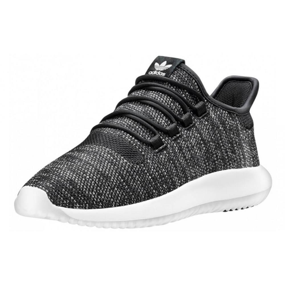 Демисезонные кроссовки мужские   - Кроссовки Adidas Tubular Shadow Knit Black 1