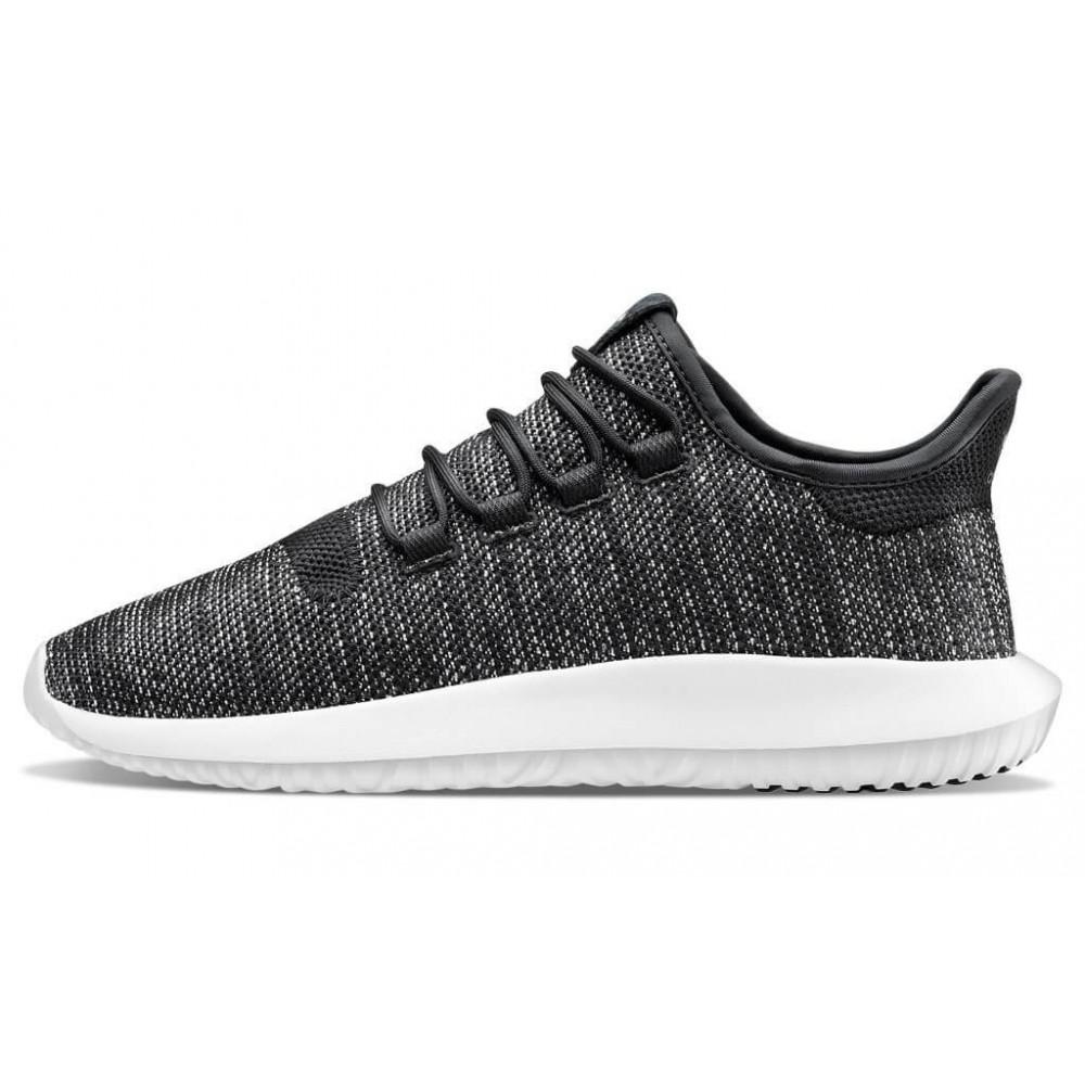 Демисезонные кроссовки мужские   - Кроссовки Adidas Tubular Shadow Knit Black 4