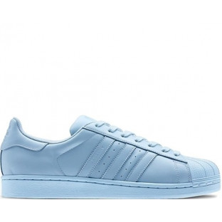 "Кроссовки Adidas Superstar Supercolor ""Light Blue"""