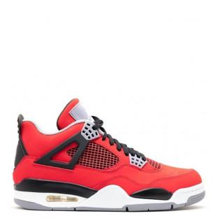 """Баскетбольные кроссовки Air Jordan IV """"Fire Red Nubuck"""""""