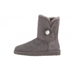 "UGG BAILEY BUTTON BLING BOOT ""GREY"""
