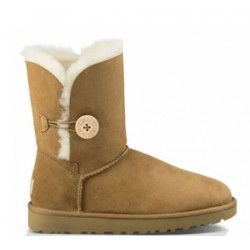 "UGG BAILEY BUTTON II BOOT ""CHESTNUT"""