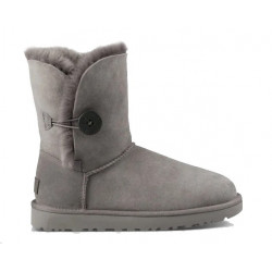 "UGG BAILEY BUTTON II BOOT ""GREY"""