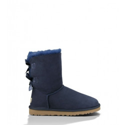 "UGG BAILEY BOW II BOOT ""NAVY"""