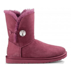 "UGG BAILEY BUTTON II BLING BOOT ""BORDO"""