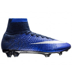 "Футбольные бутсы Nike Mercurial Superfly CR7 ""Natural Diamond"" FG - ""Deep Royal Blue/Metallic Silver/Racer Blue/Black"""