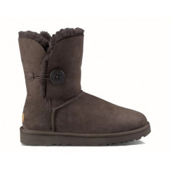 "UGG BAILEY BUTTON II BOOT ""CHOCOLATE"""