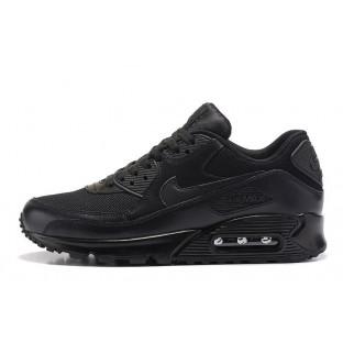 "Кроссовки Nike Air Max 90 ""Premium Triple Black"""