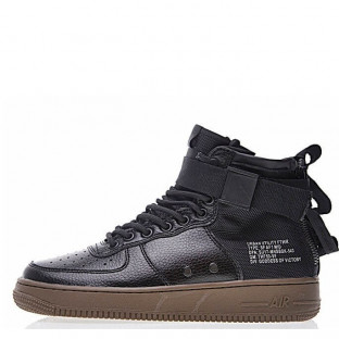 "Кроссовки Nike SF Air Force 1 Utility Mid ""Black/Grey"""