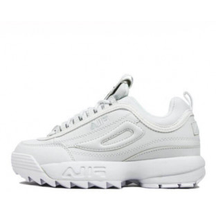 "Кроссовки Fila Disruptor II ""All White"""