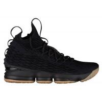 """Баскетбольные кроссовки Nike LeBron 15 """"Black Gum"""""""