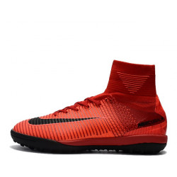 "Сороконожки Nike Mercurial Superfly V TF ""Fire Red"""