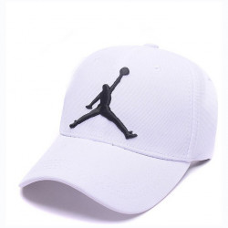 "Кепка Air Jordan Baseball ""White"""