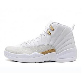 """Баскетбольные кроссовки Nike Air Jordan 12 OVO """"White Gold"""""""