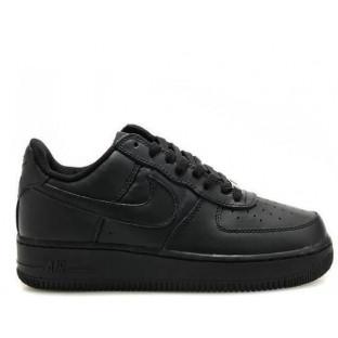 "Детские кроссовки Nike Air Force 1 Low ""Black"""