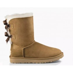 "UGG BAILEY BOW II BOOT ""CHESTNUT"""
