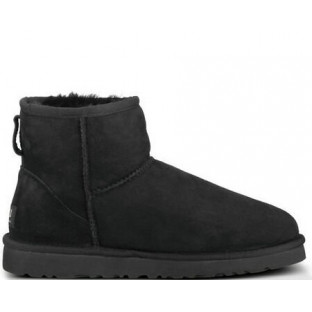 "UGG CLASSIC MINI BOOT ""BLACK"""