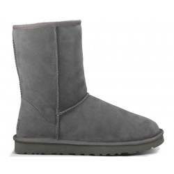 "UGG CLASSIC SHORT BOOT ""GREY"""